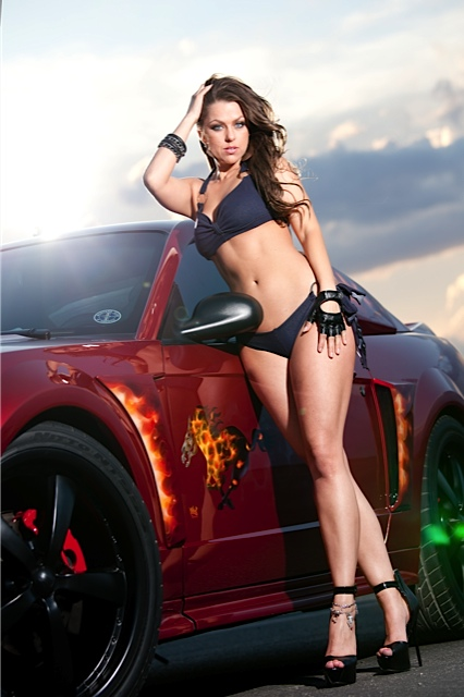 cassie-weaver-in-the-mostang-rush-raptor-modeling-2